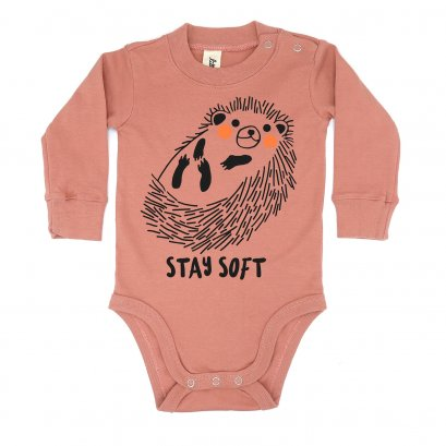 BABY 0-18M [B] LP0141 STAY SOFT ONESIE