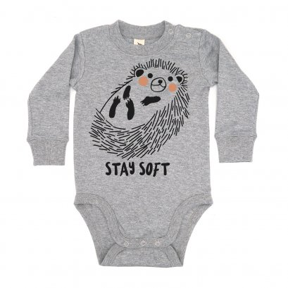 BABY 0-18M [B] LP0139 STAY SOFT ONESIE