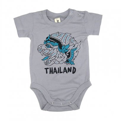 MONKEY GOD ONESIE / GREY