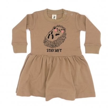BABY 0-18M [C] LP0142 STAY SOFT ONESIE SKIRT