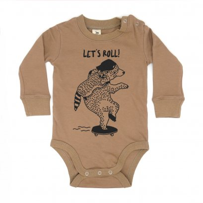 BABY 0-18M [B] LP0152 LET'S ROLL ONESIE