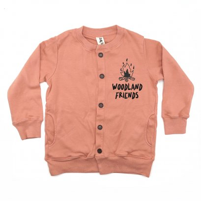 BABY/ KIDS /WOMEN /MEN LP0404 WOODLAND FRIENDS CARDIGAN
