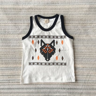 NAVAJO FOX / 100% COTTON IVORY
