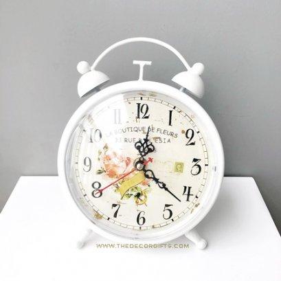 นาฬิกาตั้งโต๊ะ ทรงนาฬิกาปลุก สไตล์วินเทจ
