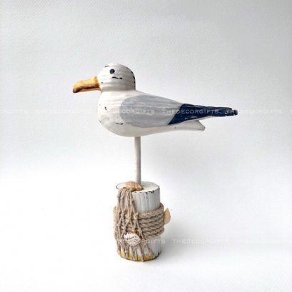 นกนางนวลเกาะท่อนไม้ (Size S) แนวทะเล