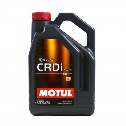 MOTUL Specific CRDi Plus 5W-30 น้ำมันเครื่องสังเคราะห์แท้เครื่องยนต์ดีเซล