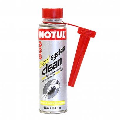 Motul สารทำความสะอาดหัวฉีด วาล์ว ห้องเผาไหม้สำหรับเครื่องยนต์ดีเซล Diesel System Clean