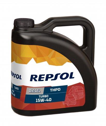 REPSOL DIESEL TURBO THPD 15W-40 น้ำมันเครื่องดีเซลเรปโซล