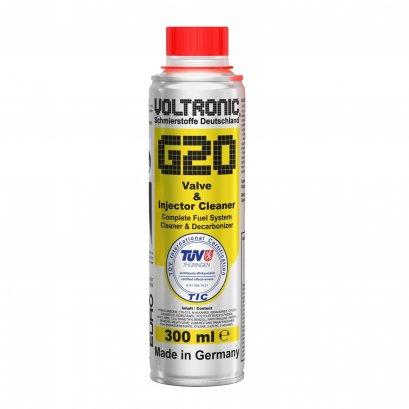 VOLTRONIC G20 สารทำความสะอาดตัวฉีดและวาล์ว ทำความสะอาดและปกป้องทั้งระบบเชื้อเพลิง Valve & Injector Cleaner