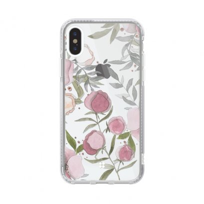 Case Studi iPhone XR, iPhone XS และ iPhone XS Max  FLORAL - ROSE