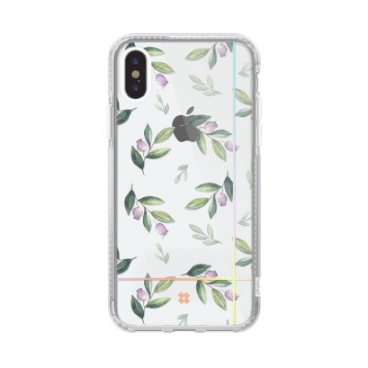 Case Studi iPhone XR, iPhone XS และ iPhone XS Max  FLORAL - BLUEBERRY