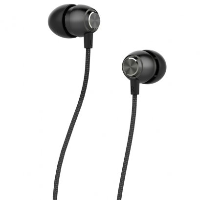 Devia P1 Marron In-Ear Headphones (Black)