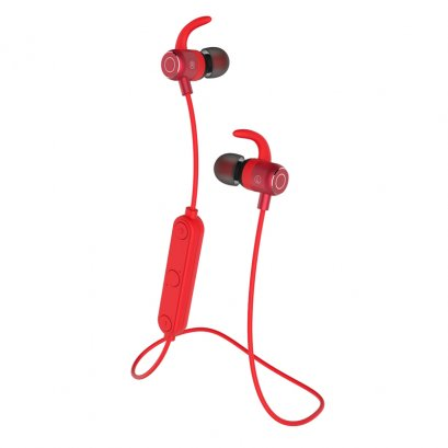Devia Boosm Series Bluetooth  Dual-Earphone (EM035) - Red
