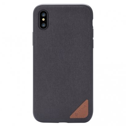 DEVIA ACME CASE for iPhone X - BLACK
