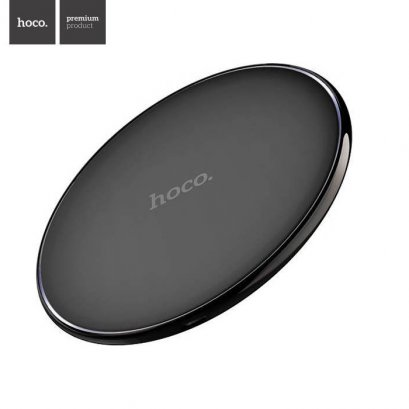 HOCO CW6 Qi Wireless Charger  for IPhoneX 8/8 Plus Samsung S8 Plus S7 S6 Edge - Black