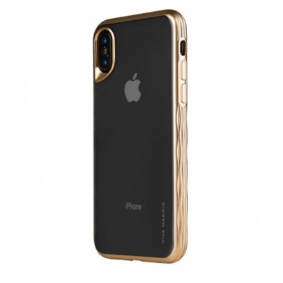 VIVA GLOSA BACK CASE - CHAMPAGNE GOLD