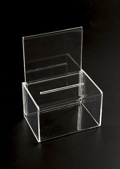 กล่องรับบริจาค , กล่อง Tip Box ขนาด 30x30(copy)