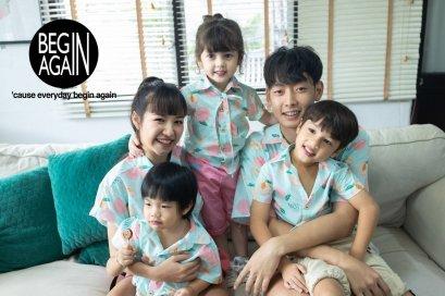 เสื้อเชิ๊ตครอบครัว