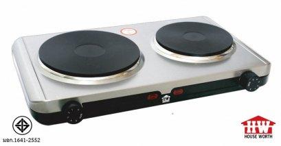 เตาไฟฟ้าหัวคู่HOUSE WORTH รุ่น HW-HP02