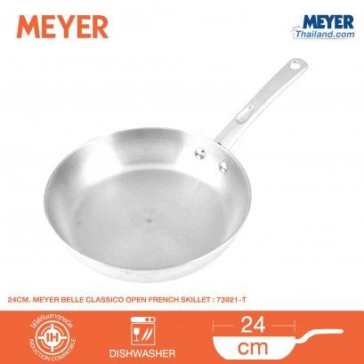 กระทะสแตนเลสทรงตื้น Meyer Bella Classico รุ่น73921-T