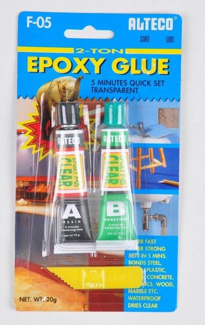 กาว EPOXY ชนิดแห้งเร็ว 5นาที ALTEGO  F-05 EPOXY GLUE CLEAR 5MIN