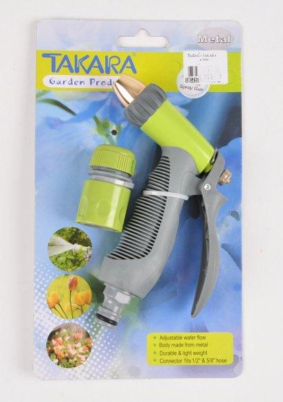 ปืนฉีดน้ำเหล็ก TAKARA ปรับระดับน้ำ รุ่น DGT2009