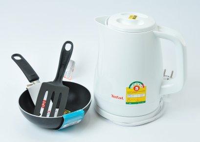 TEFAL  Gift Set กาต้มน้ำKO150+กะทะ+ตะหลิว