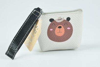 กระเป๋าใส่สตางค์รูปหมีS-171001-1052SP126