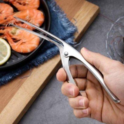 Stainless steel shhrimp peelerที่แกะเปลือกกกุ้งสแตเลส