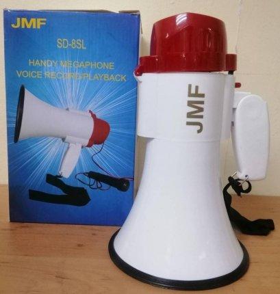 โทรโข่งJMF  ขนาด 6 นิ้ว พร้อมไมโครโฟน Megaphone  รุ่น SD-8SL