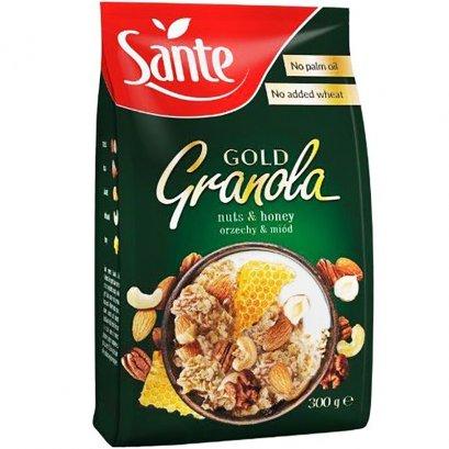 อาหารเช้าซานเต้ กราโนล่าโกลด์ ถั่ว,น้ำผึ้ง 300 ก.