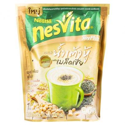 เครื่องดื่มธัญญาหารเนสวิต้าซอยพลัส 230 ก. เมล็ดเซีย 1*10*23