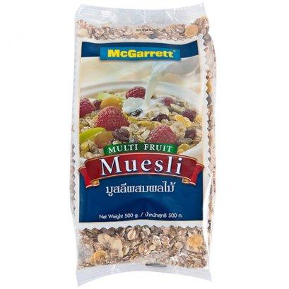อาหารเช้า แมกกาแรต มุสลี่ผลไม้รวม 500 ก.