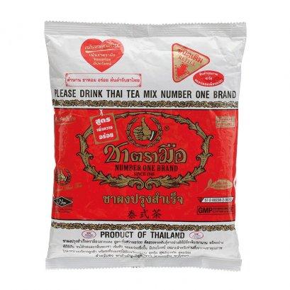 ชาไทยผงถุงแดง ตรามือ 400 ก.
