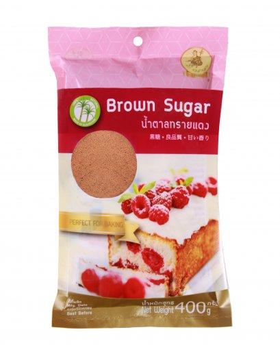 น้ำตาลทรายแดง ซอสามสาย 400 ก.