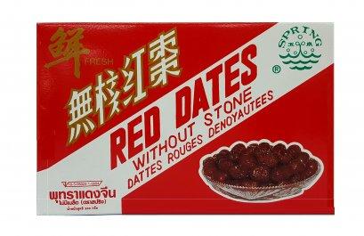 พุทราแดงจีนไม่มีเมล็ด ตราสปริง 200 ก.