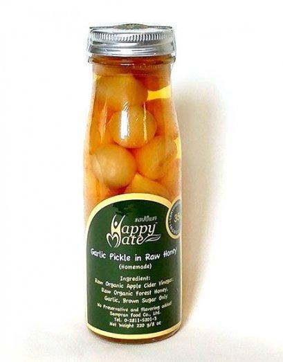กระเทียมโทนดองน้ำผึ้ง แฮปปี้เมท 220 ก.