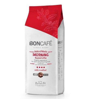 กาแฟคั่วบดชนิดเม็ด บอนกาแฟ มอร์นิ่ง 250 ก.