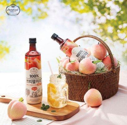 เครื่องดื่มน้ำส้มสายชูหมัก มิโชะ พีช 900 มล.
