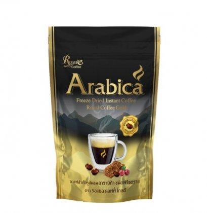กาแฟสำเร็จรูป รอแยลคอฟฟี่โกลด์ อาราบิก้า 100 ก.