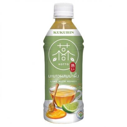 น้ำมะนาวผสมน้ำผึ้ง คุคุรินฮอตโตะ 350 มล.
