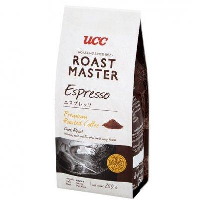 กาแฟคั่วบดชนิดผง ยูซีซี เอสเพรสโซ่ 250 ก.