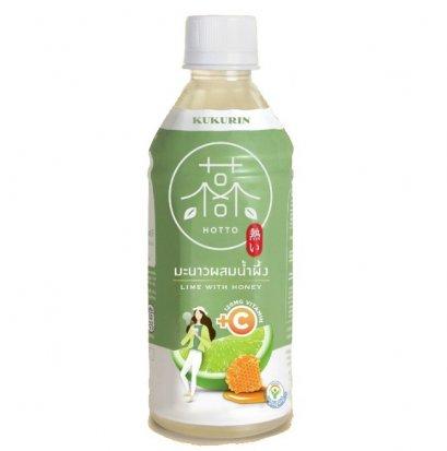 น้ำมะนาวน้ำผึ้ง คุคุรินฮอตโตะ ผสมวิตามินซี 350 มล.