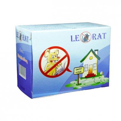 ผลิตภัณฑ์ใช้ไล่และป้องกันหนู ลีโอแรท 56 ก. 1*2