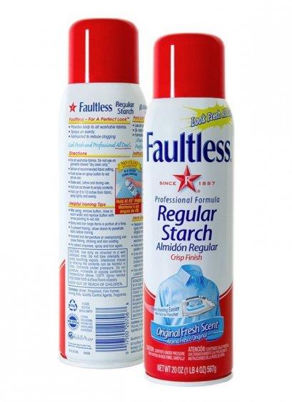ผลิตภัณฑ์รีดผ้าเรียบ Faultless Regular Starch 585 มล.
