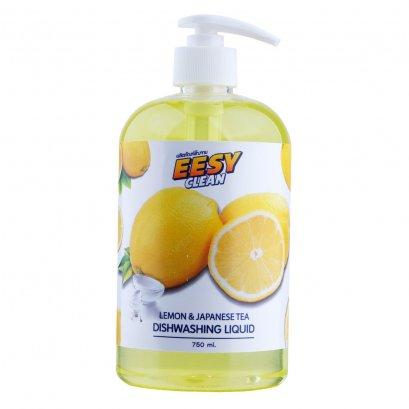 น้ำยาล้างจาน EESY  NATURAL Lemon ขวด 750 มล.