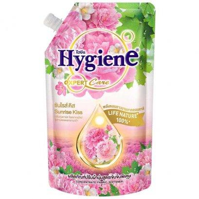 น้ำยาปรับผ้านุ่มไฮยีนเข้มข้น รีฟิล 580 มล. ซันไรซ์ คิส