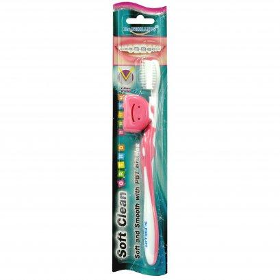 แปรงสีฟันจัดฟัน Soft Clean