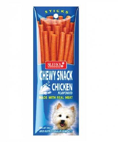 อาหารว่างสุนัขชิววี่สแนค แท่งสลิคกี้ รสไก่ 50 ก.