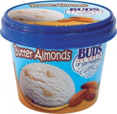 บัดส์ ไอศกรีม บัตเตอร์ อัลมอนด์ ถ้วย 76 กรัม